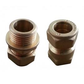 Conector de bronz teava 15