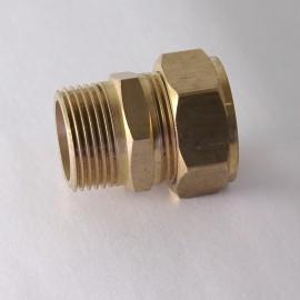 Conector de bronz teava 22