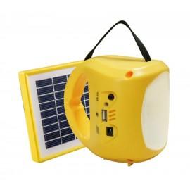 Lampa solara cu panou si iesire USB