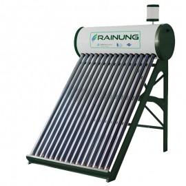 Panou solar apa calda nepresurizat RAINUNG, rezervor 150L, 15 tuburi, vas flotor 2L